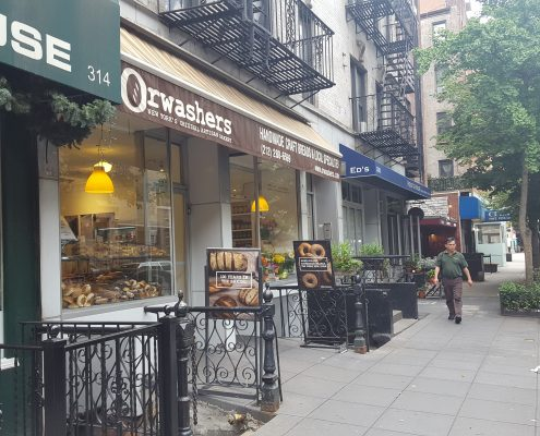 Orwasher's Bakery - Side-Front