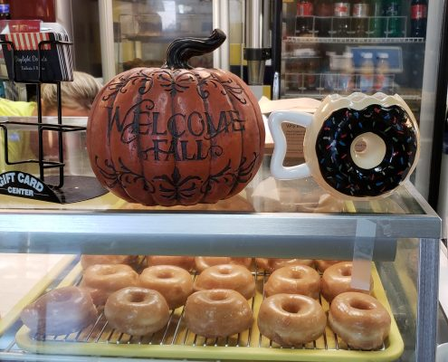 daylight donuts - store - fall decoration