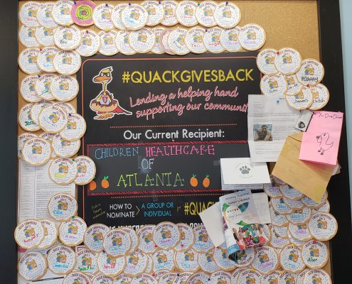 duck donuts - store - charity