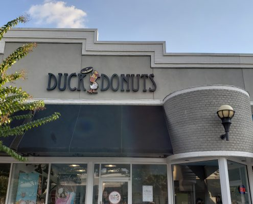 duck donuts - store - entrance close up