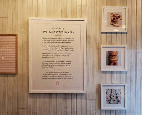 five daughters bakery - store - story