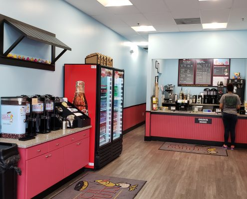 duck donuts - store - counter