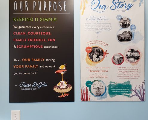 duck donuts - store - story